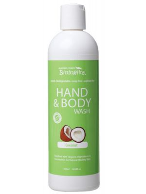 Biologika Coconut Hand & Body Wash 500ml