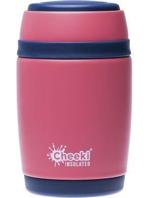CHEEKI Insulated Food Jar Dusty Pink 480ml