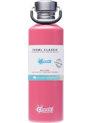 CHEEKI Stainless Steel Bottle Dusty Pink 750ml