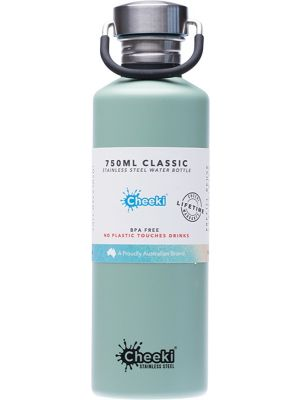 CHEEKI Stainless Steel Bottle Pistachio 750ml