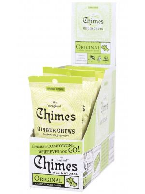 CHIMES Original Ginger Chews 12x42.5g