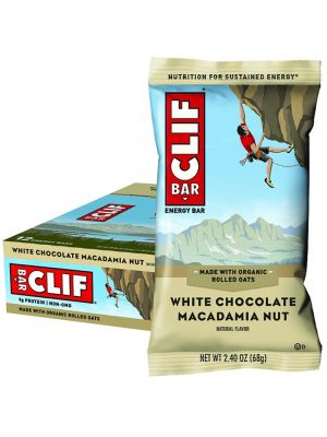 CLIF BAR White Chocolate Macadamia Nut 12x68g