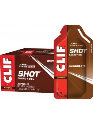 CLIF Shot Energy Gel Chocolate 24x34g