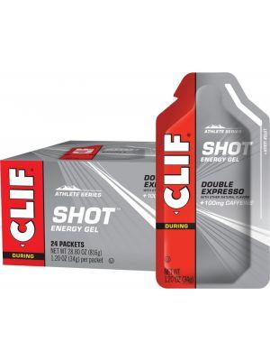 CLIF Shot Energy Gel Double Expresso (100mg Caffeine) 24x34g