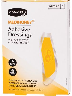 COMVITA Medihoney Adhesive Dressings - Large 8