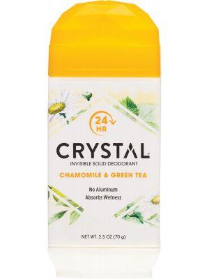 CRYSTAL Deodorant Stick Chamomile & Green Tea 70g
