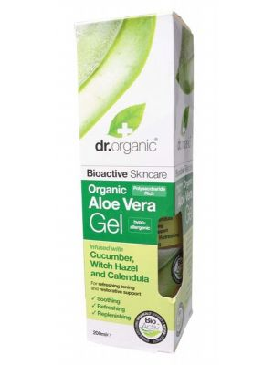 Dr Organic Aloe & Cucumber Gel 200ml