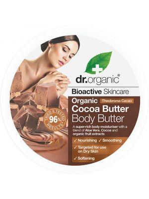 DR ORGANIC Body Butter Organic Cocoa Butter 200ml