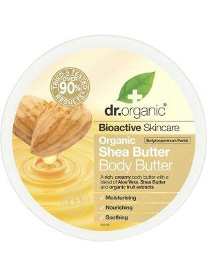 DR ORGANIC Body Butter Organic Shea Butter 200ml