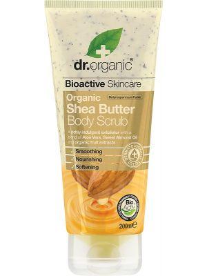 DR ORGANIC Body Scrub Organic Shea Butter 200ml