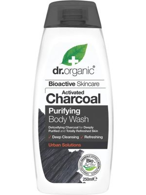 DR ORGANIC Body Wash Activated Charcoal 250ml