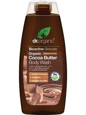 DR ORGANIC Body Wash Organic Cocoa Butter 250ml