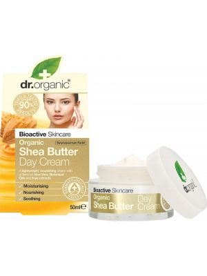 DR ORGANIC Day Cream Organic Shea Butter 50ml
