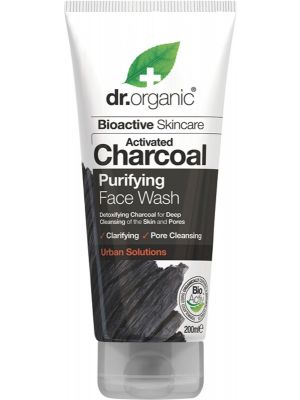 DR ORGANIC Face Wash Activated Charcoal 200ml