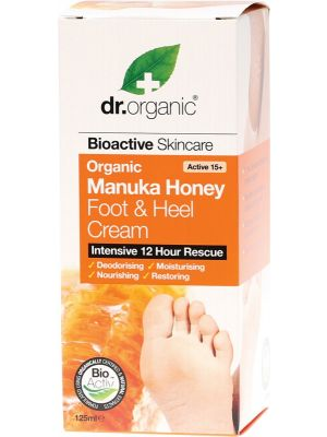 Dr Organic Manuka Foot & Heel 125ml