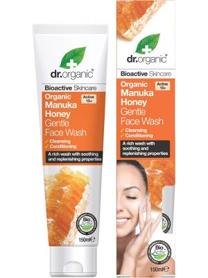 DR ORGANIC Gentle Face Wash Organic Manuka Honey 150ml