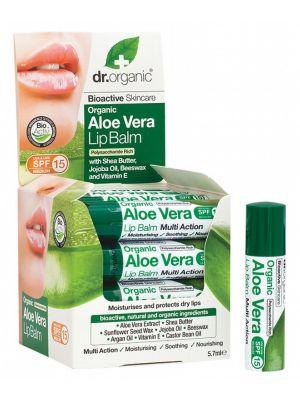 DR ORGANIC Aloe Vera Lip Balm 5.7ml