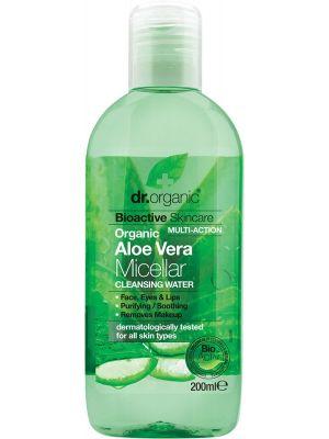DR ORGANIC Micellar Cleansing Water Organic Aloe Vera 200ml