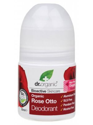 DR ORGANIC Roll-on Deodorant Organic Rose Otto 50ml