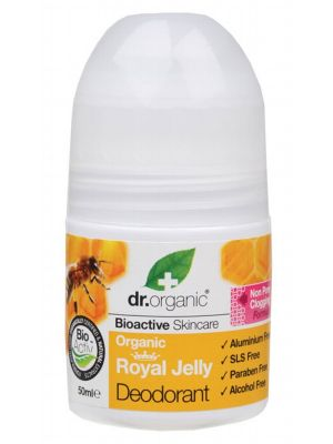 DR ORGANIC Roll-on Deodorant Organic Royal Jelly 50ml