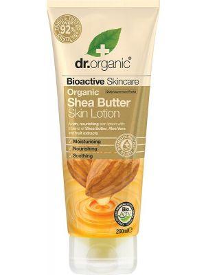 DR ORGANIC Skin Lotion Organic Shea Butter 200ml