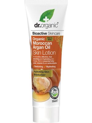 DR ORGANIC Travel Size - Skin Lotion Organic Moroccan Argan Oil 30ml