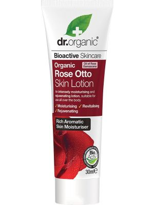 DR ORGANIC Travel Size - Skin Lotion Organic Rose Otto 30ml