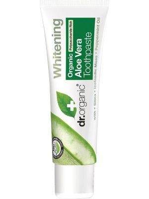 DR ORGANIC Travel Size - Toothpaste Organic Aloe Vera 20ml