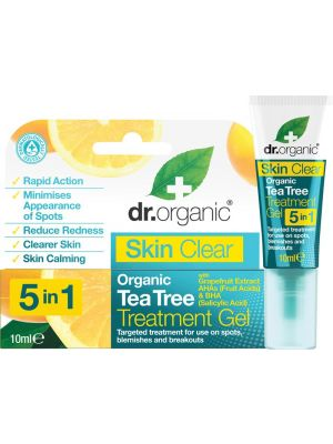 DR ORGANIC Treatment Gel Skin Clear - Organic Tea Tree 10ml
