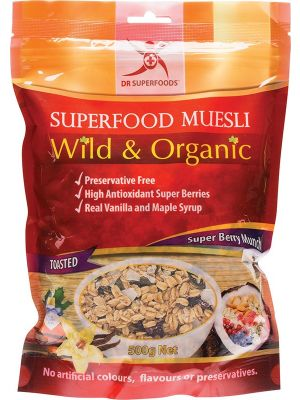 Dr Superfoods Super Berry Muesli 500g