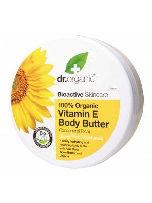 Dr Organic Vit. E Body Butter 200ml