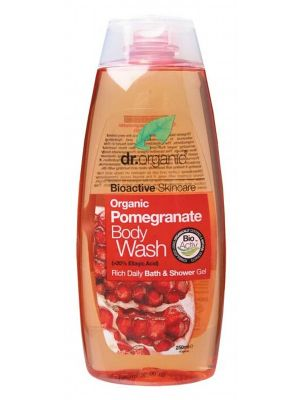 Dr Organic Pomegr. Body Wash 250ml