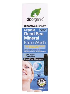 Dr Organic Sea Face Wash 200ml