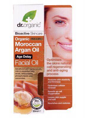 Dr Organic Argan Facial Oil 30ml