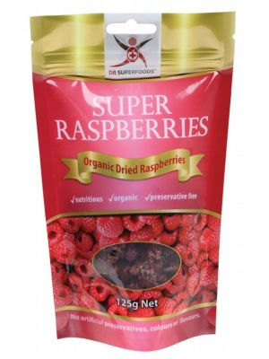 Dr Superfoods Super Rasberries 125g