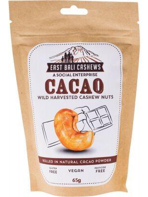 EAST BALI CASHEWS Cacao Cashew Nuts 75g