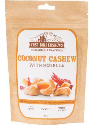 EAST BALI CASHEWS Coconut Cashew With Rosella 55g