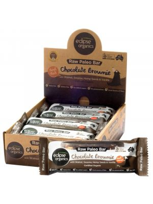 ECLIPSE ORGANICS Raw Paleo Bar Chocolate Brownie 45g
