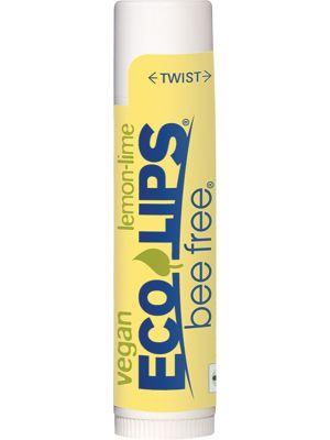 ECO LIPS Lip Balm (Vegan) Bee Free - Lemon Lime 4.25g