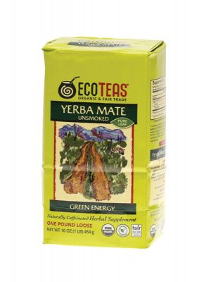ECO TEAS Yerba Mate Loose Leaf Tea 454g