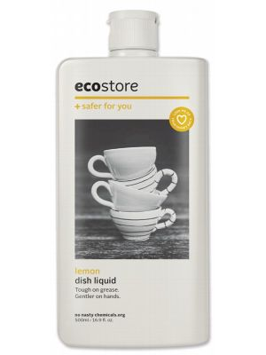 Ecostore Lemon Dishwash Liquid 500ml