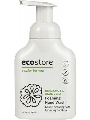 ECOSTORE Foaming Hand Wash Bergamot & Aloe Vera 250ml