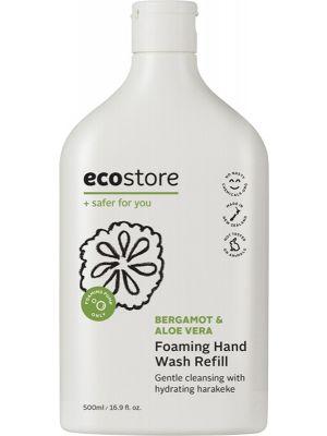ECOSTORE Foaming Hand Wash (Refill) Bergamot & Aloe Vera 500ml
