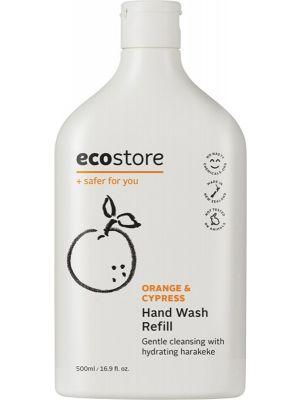 ECOSTORE Hand Wash (Refill) Orange & Cypress 500ml