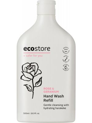 ECOSTORE Hand Wash (Refill) Rose & Geranium 500ml