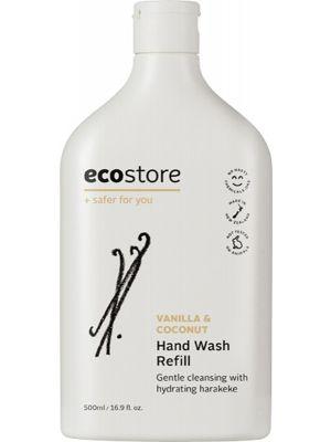 ECOSTORE Hand Wash (Refill) Vanilla & Coconut 500ml