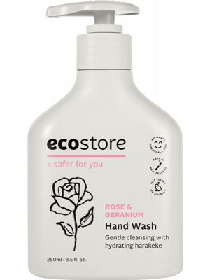 ECOSTORE Hand Wash Rose & Geranium 250ml