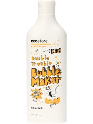 ECOSTORE Kids Dble Trouble Bubble Maker Pear Pop 400ml