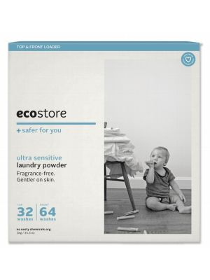 ECOSTORE Unscented Laundry Powder 1kg