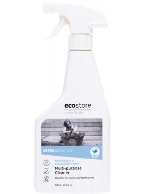 ECOSTORE Multi-Purpose Cleaner Ultra Sensitive (Fragrance Free) 500ml
